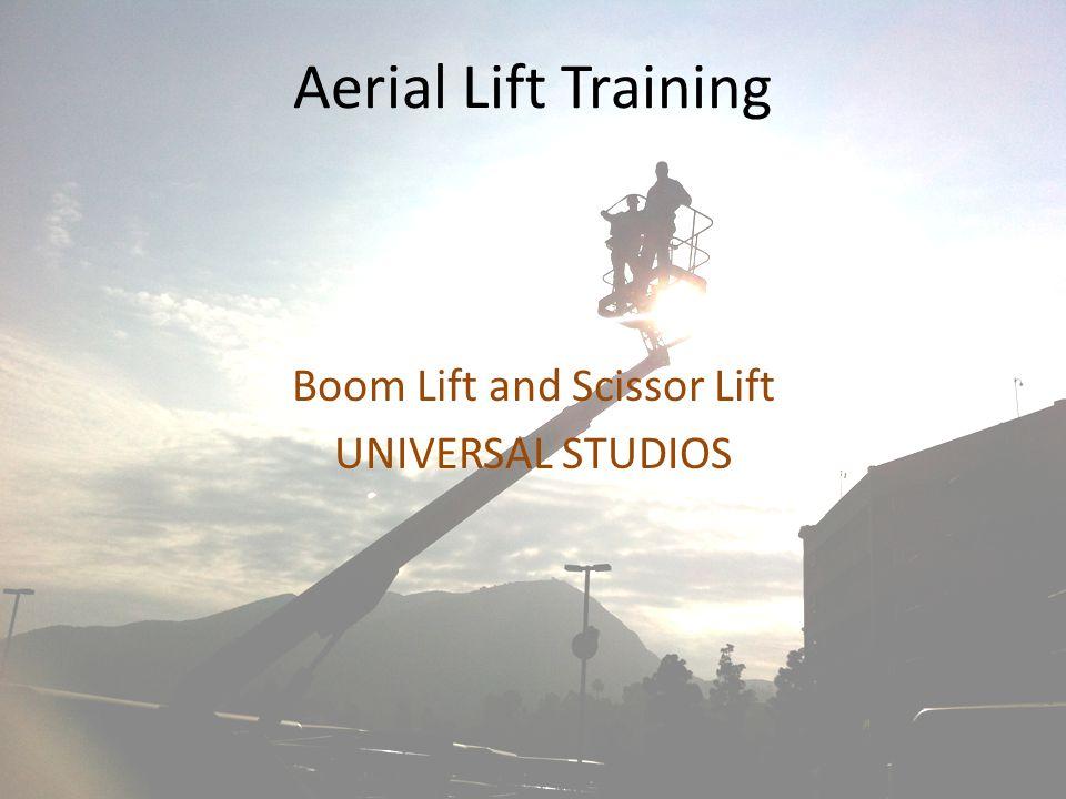 Boom Lift and Scissor Lift UNIVERSAL STUDIOS