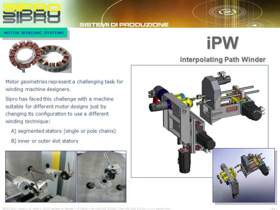 interpolating Path Winder