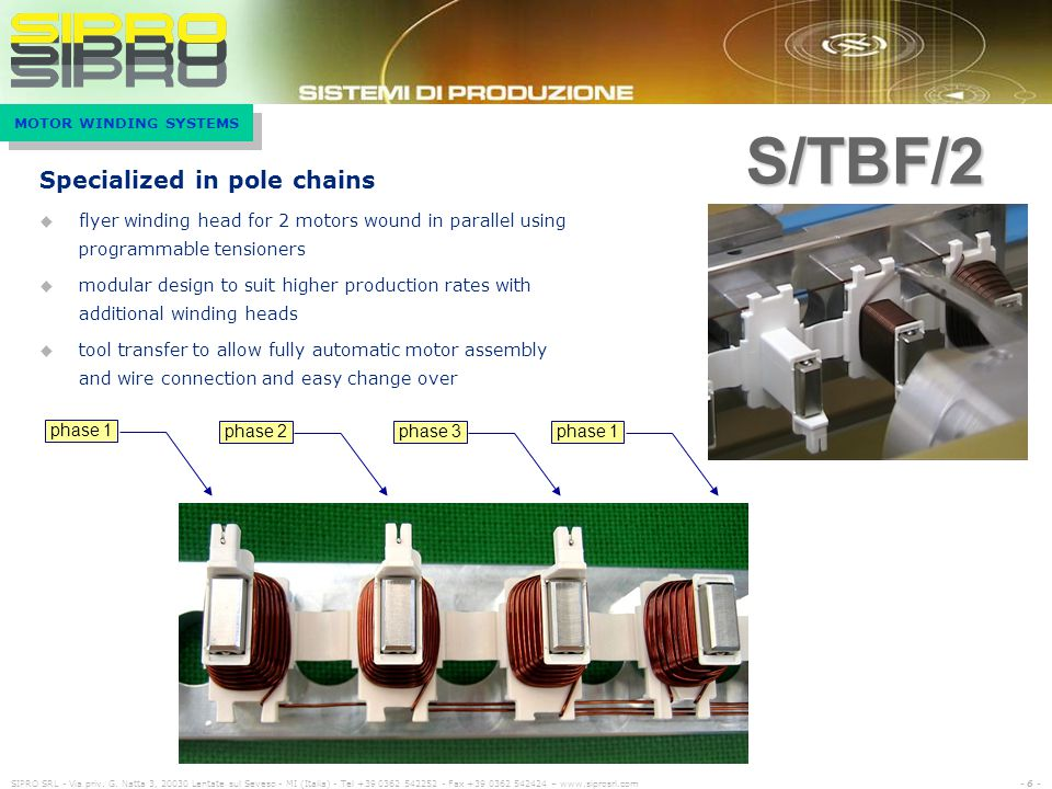 S/TBF/2 Specialized in pole chains