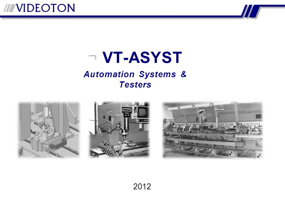 Automation Systems & Testers