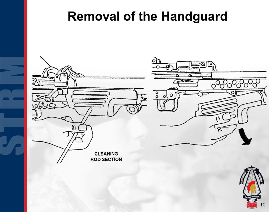Removal of the Handguard