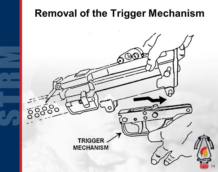Removal of the Trigger Mechanism