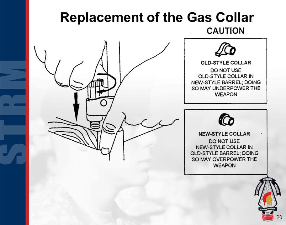 Replacement of the Gas Collar