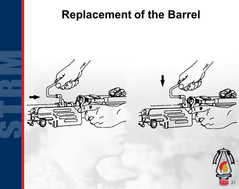 Replacement of the Barrel