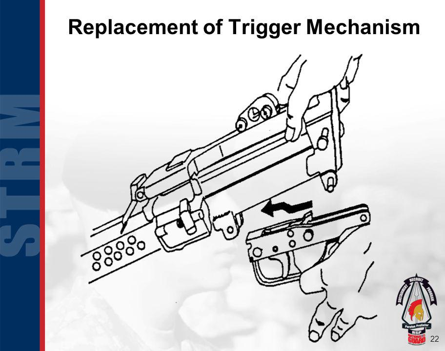 Replacement of Trigger Mechanism