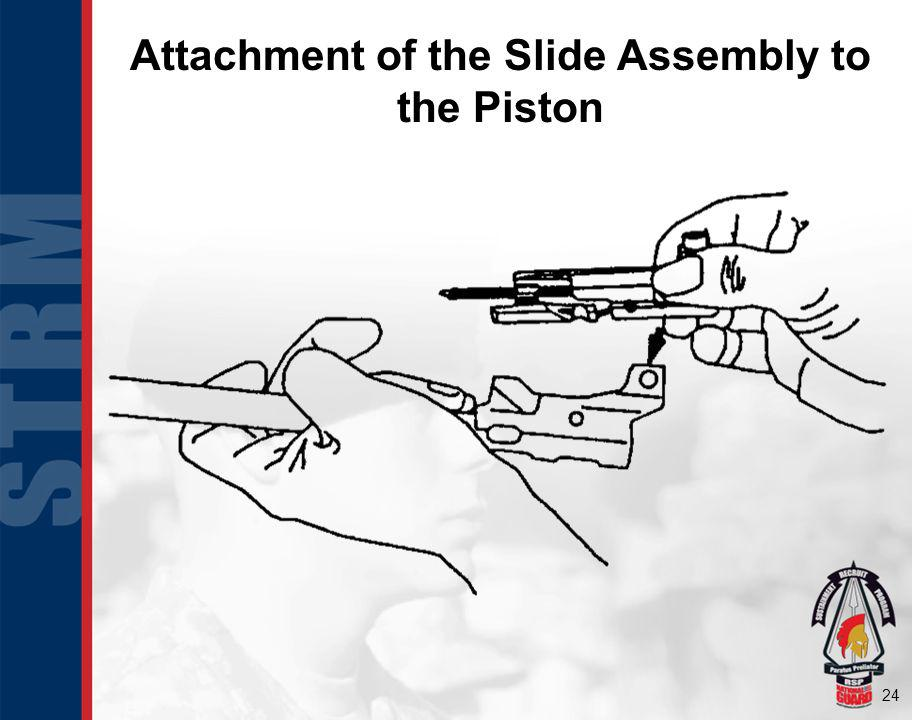 Attachment of the Slide Assembly to the Piston