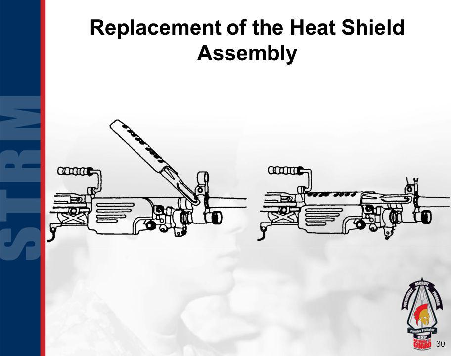 Replacement of the Heat Shield Assembly