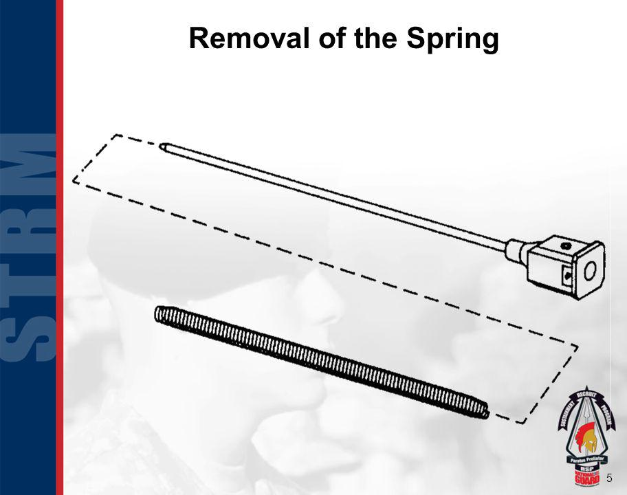 Removal of the Spring