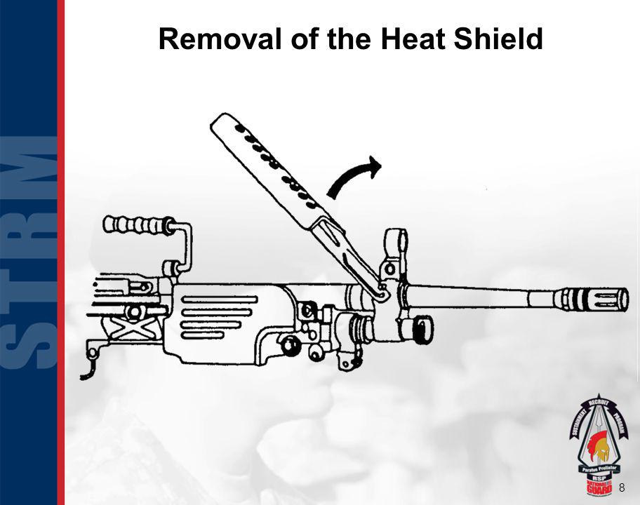 Removal of the Heat Shield