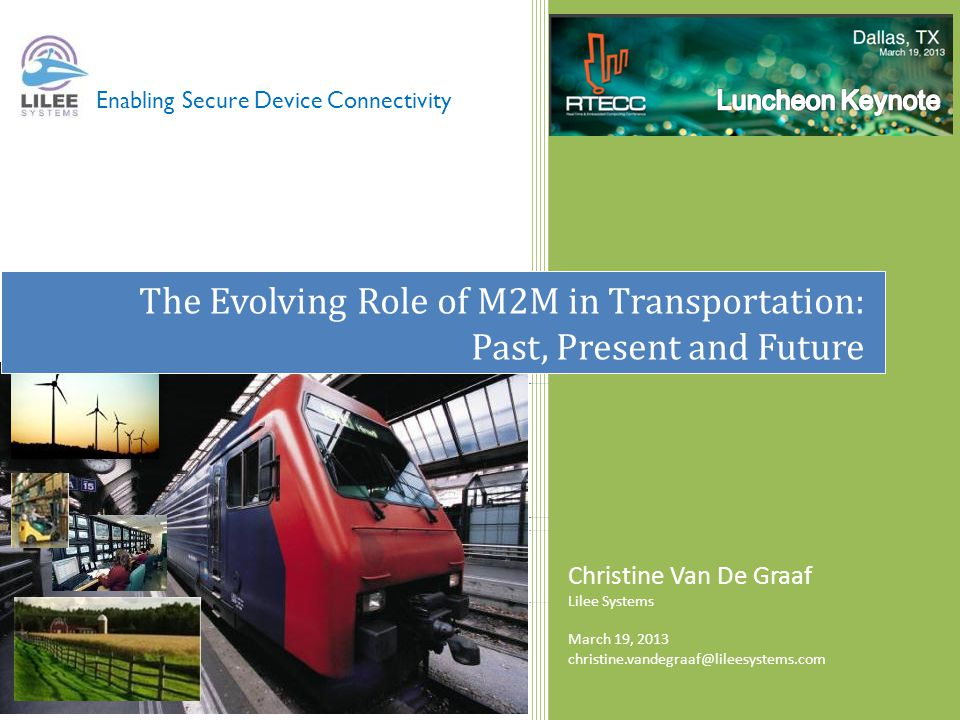 The Evolving Role of M2M in Transportation: Past, Present and Future