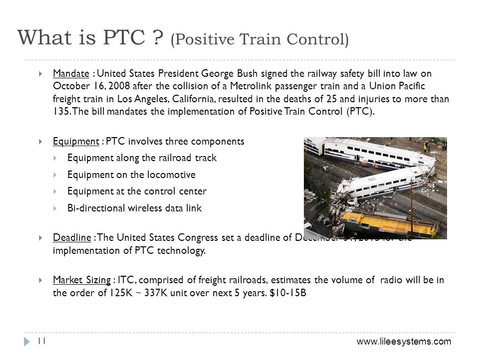 What is PTC (Positive Train Control)