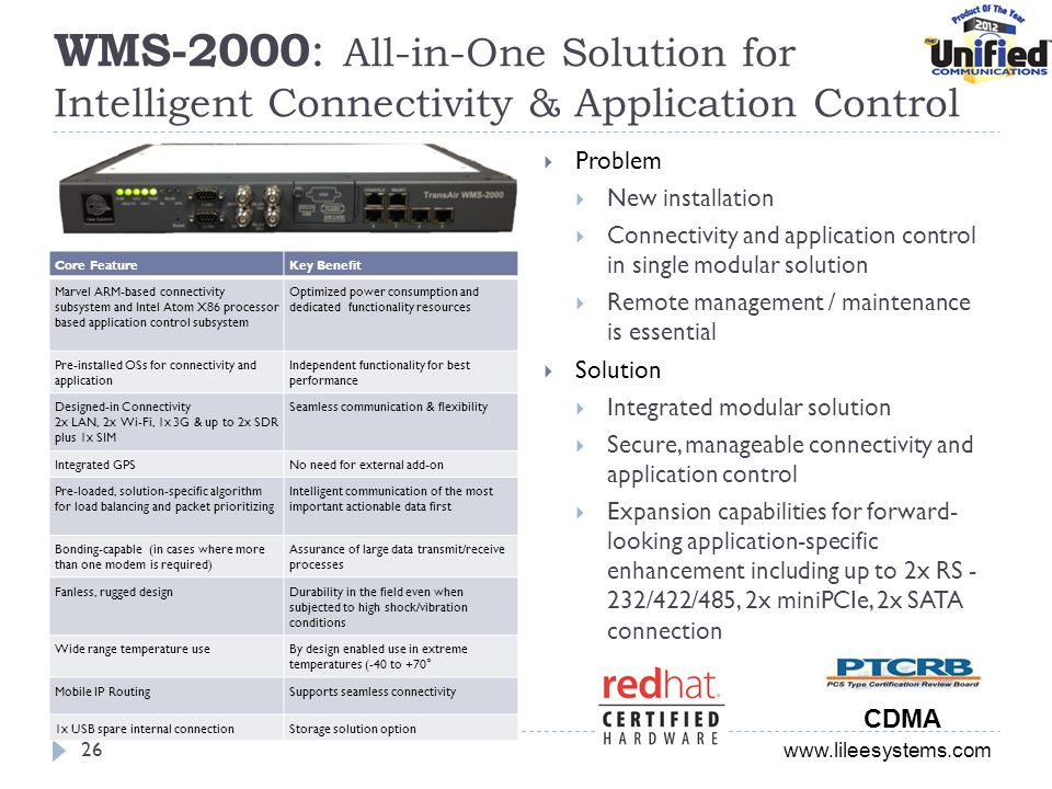 WMS-2000: All-in-One Solution for Intelligent Connectivity & Application Control