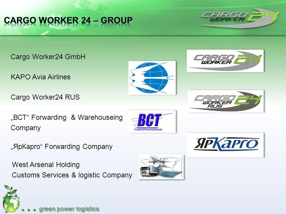 Cargo Worker 24 – Group Cargo Worker24 GmbH KAPO Avia Airlines