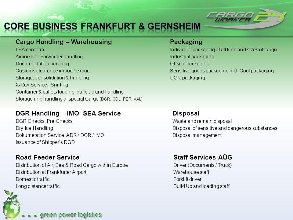 Core Business Frankfurt & Gernsheim
