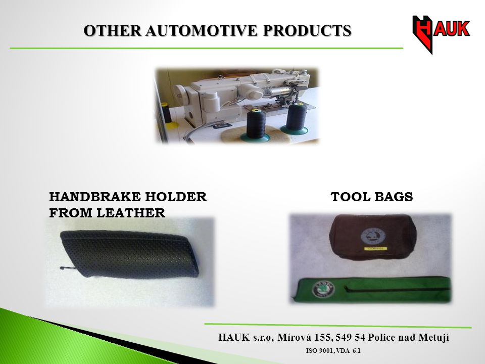 OTHER AUTOMOTIVE PRODUCTS