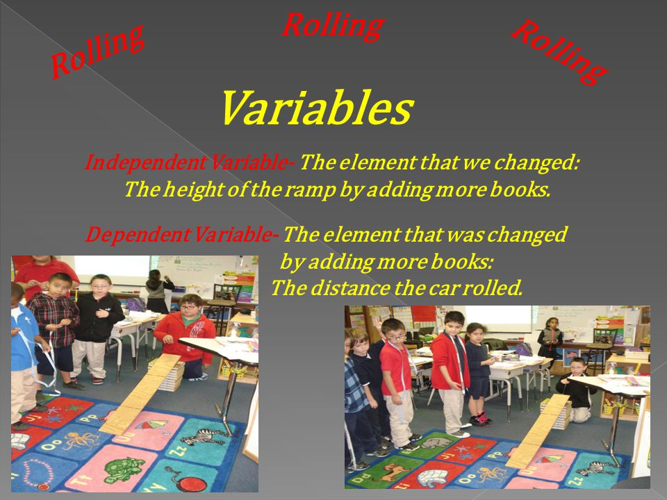 Variables Rolling Rolling Rolling