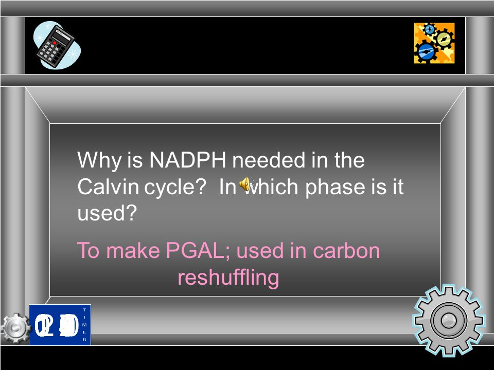 To make PGAL; used in carbon reshuffling