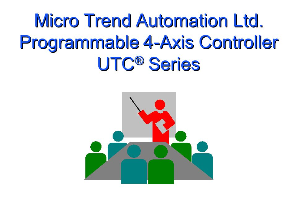 UTC400P 4-Axis Motion Controller