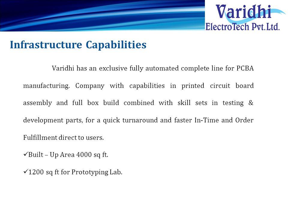 Infrastructure Capabilities