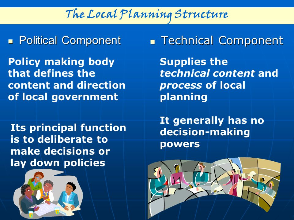 The Local Planning Structure