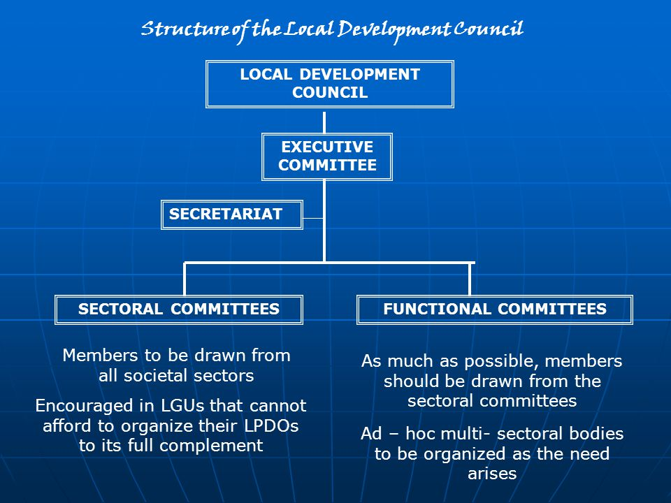 Structure of the Local Development Council