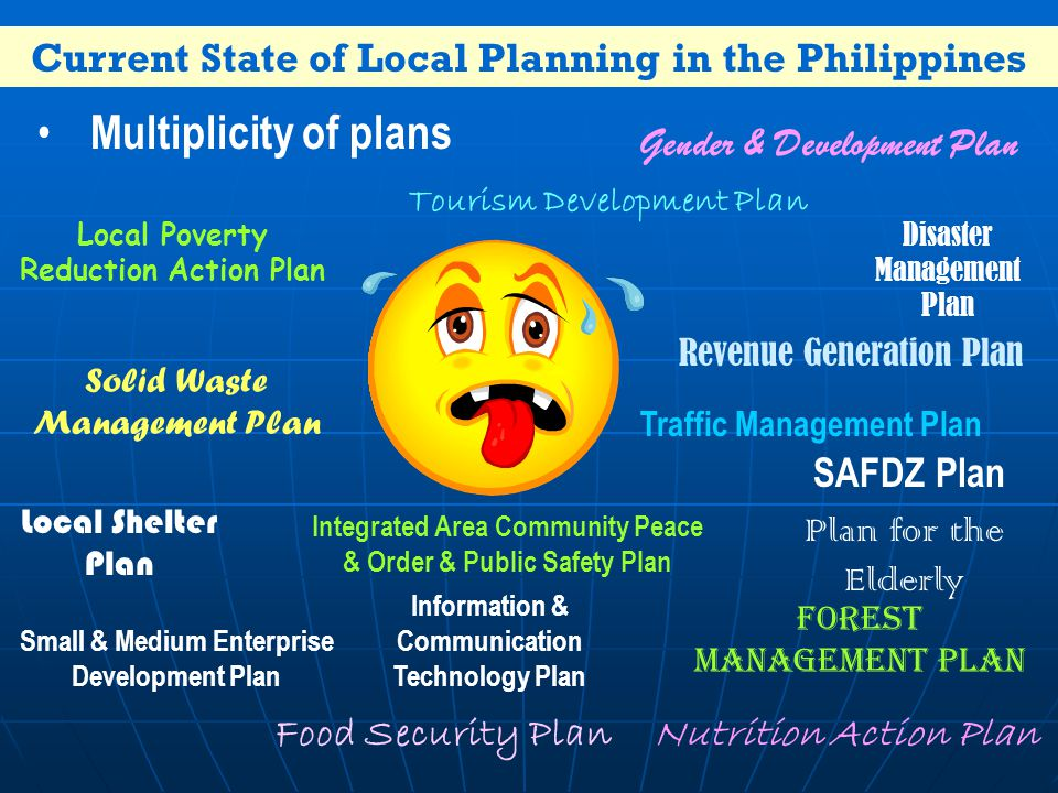 Current State of Local Planning in the Philippines
