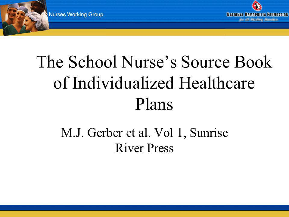 The School Nurse's Source Book of Individualized Healthcare Plans