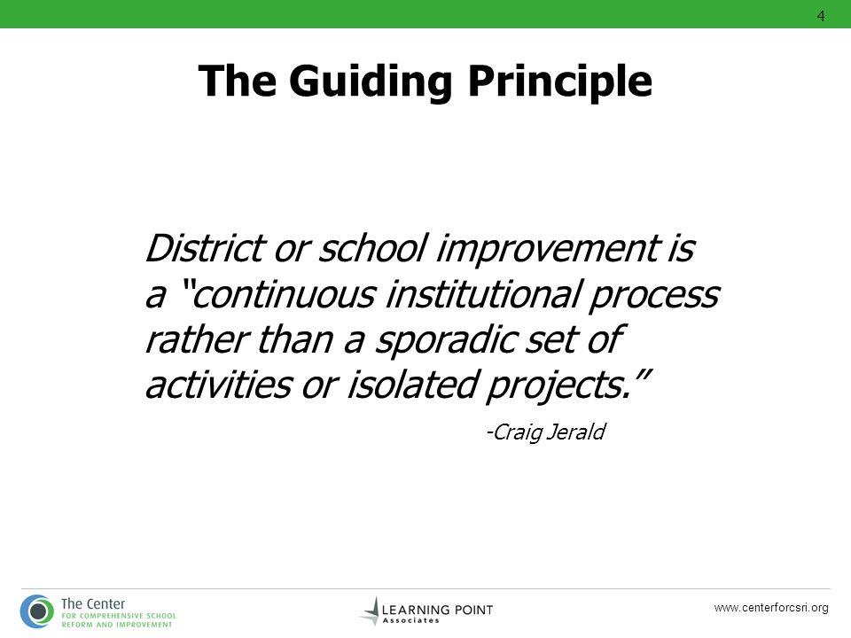 4 The Guiding Principle.