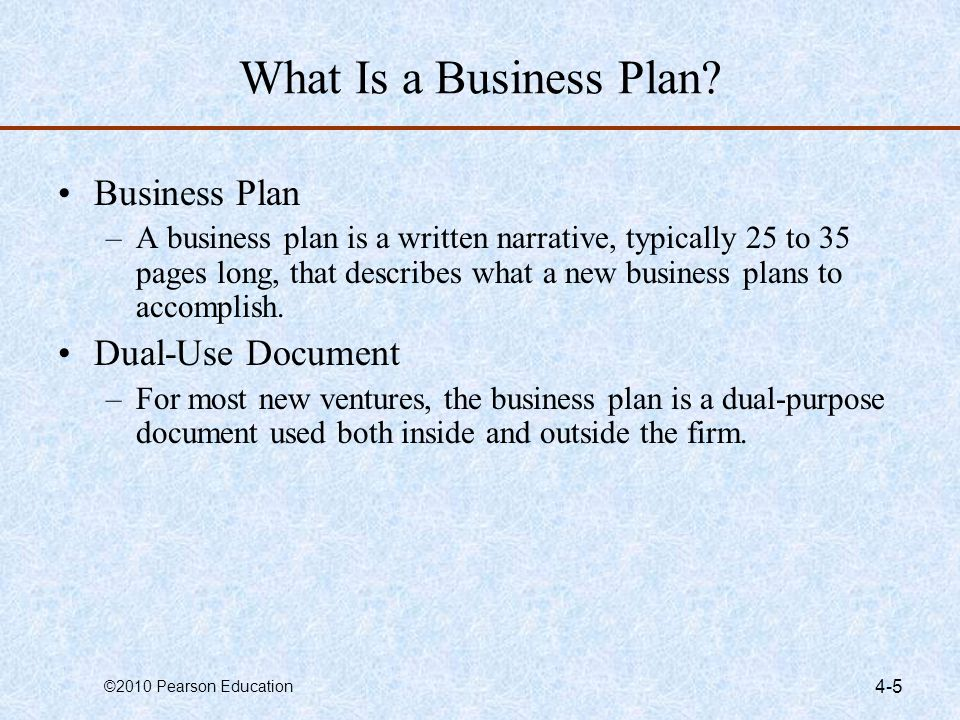 What Is a Business Plan Business Plan Dual-Use Document
