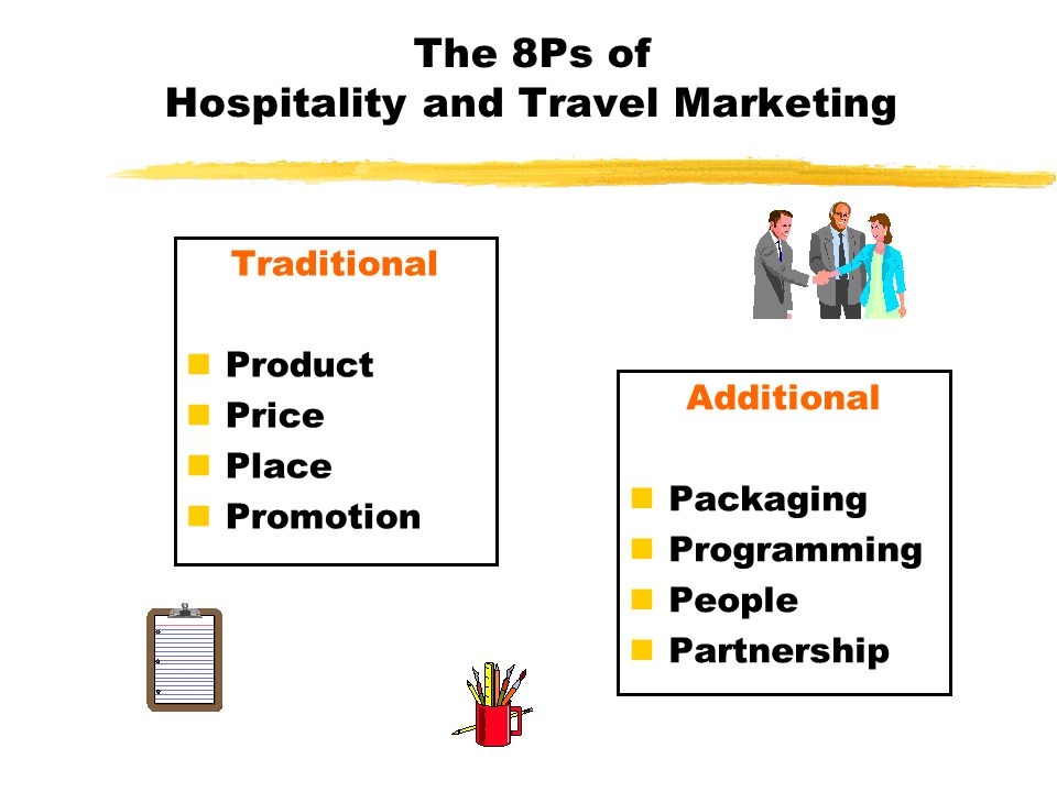 The 8Ps of Hospitality and Travel Marketing