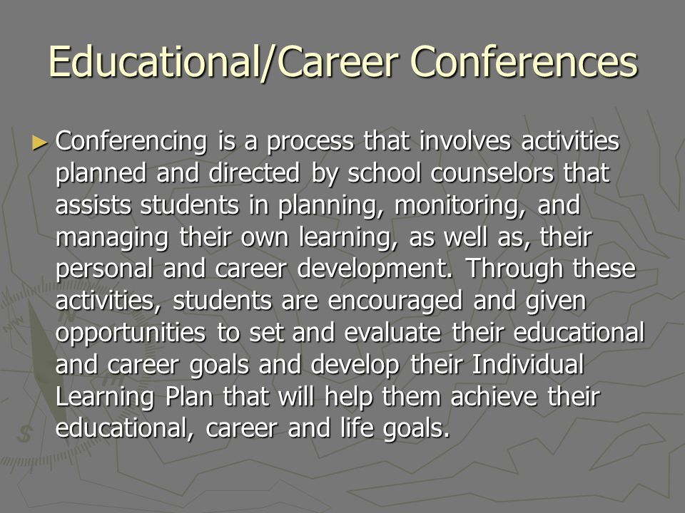 Educational/Career Conferences