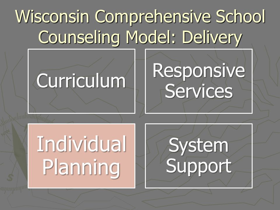 Wisconsin Comprehensive School Counseling Model: Delivery