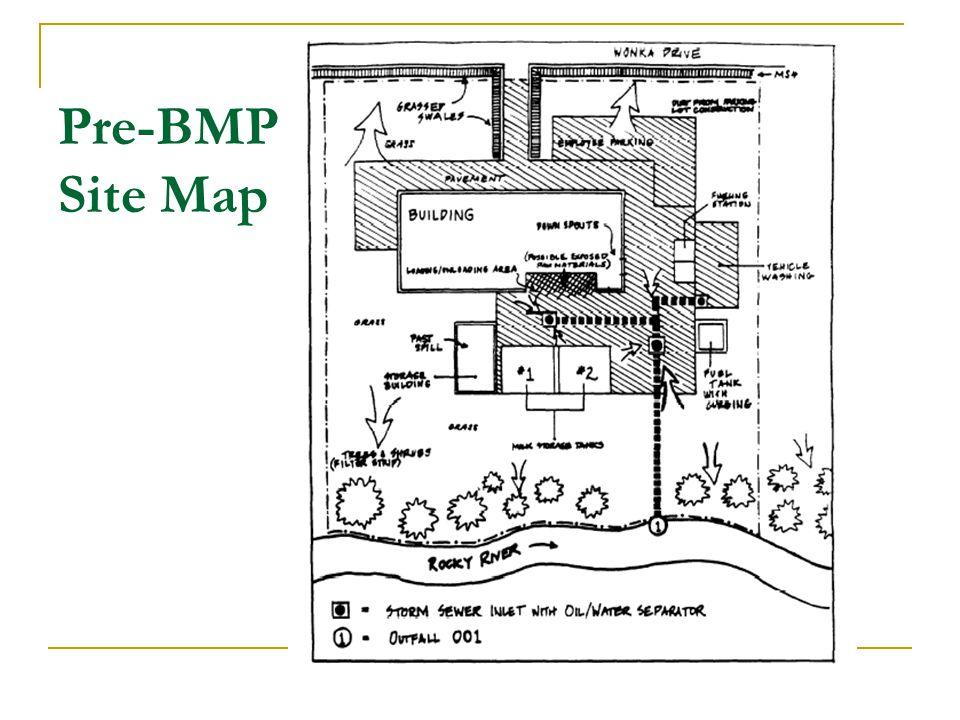 Pre-BMP Site Map 20
