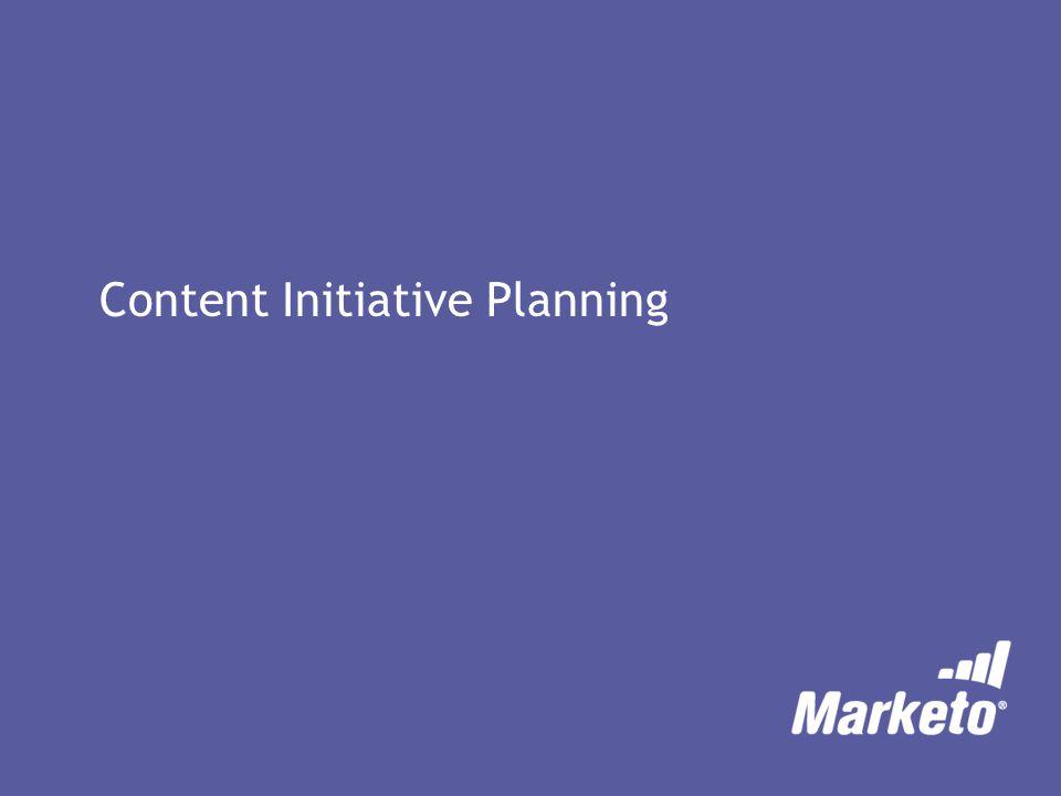 Content Initiative Planning