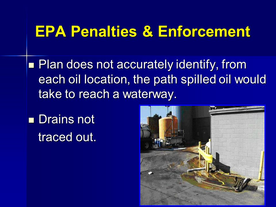 EPA Penalties & Enforcement