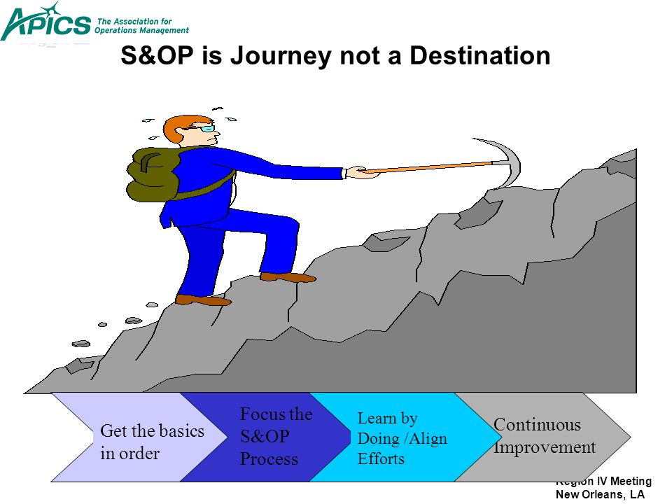 S&OP is Journey not a Destination