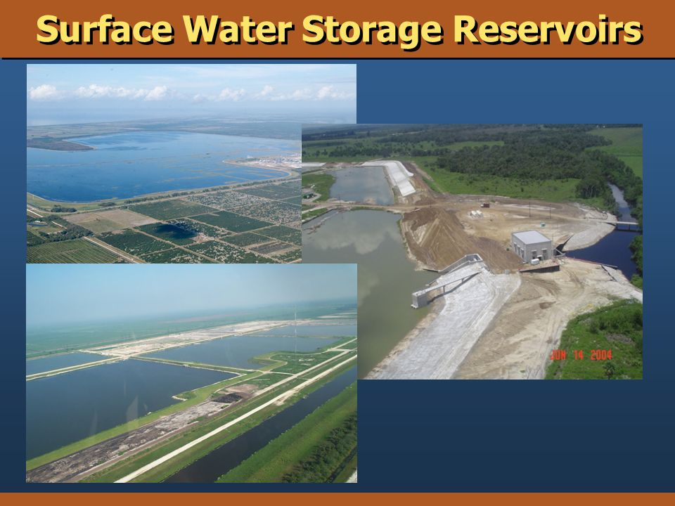 Surface Water Storage Reservoirs