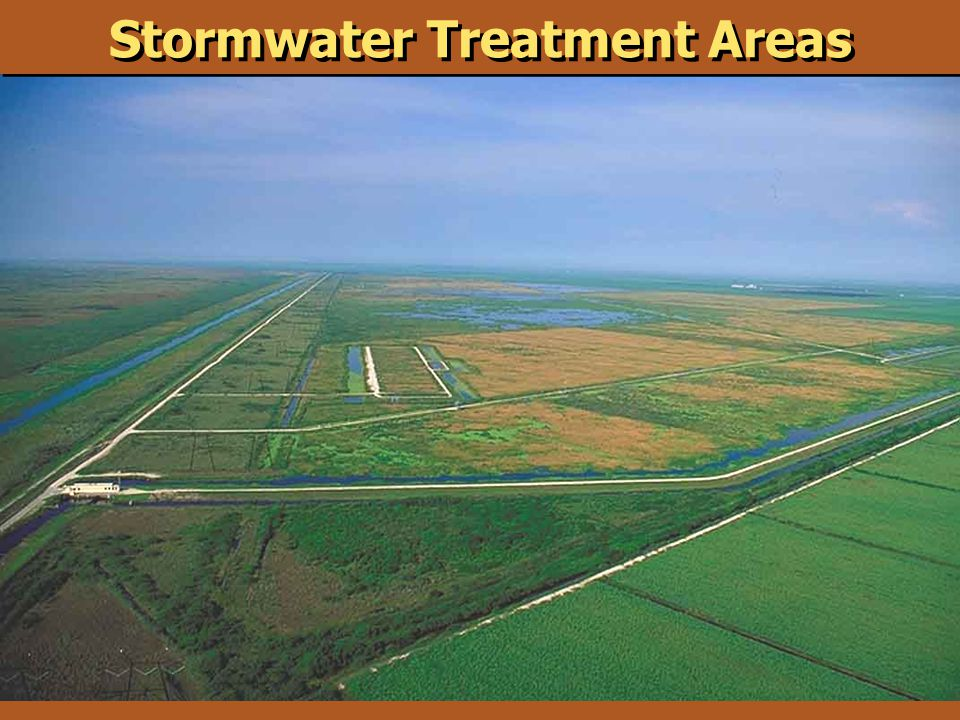 Stormwater Treatment Areas