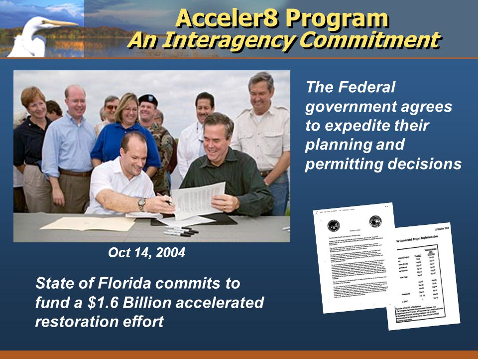 Acceler8 Program An Interagency Commitment