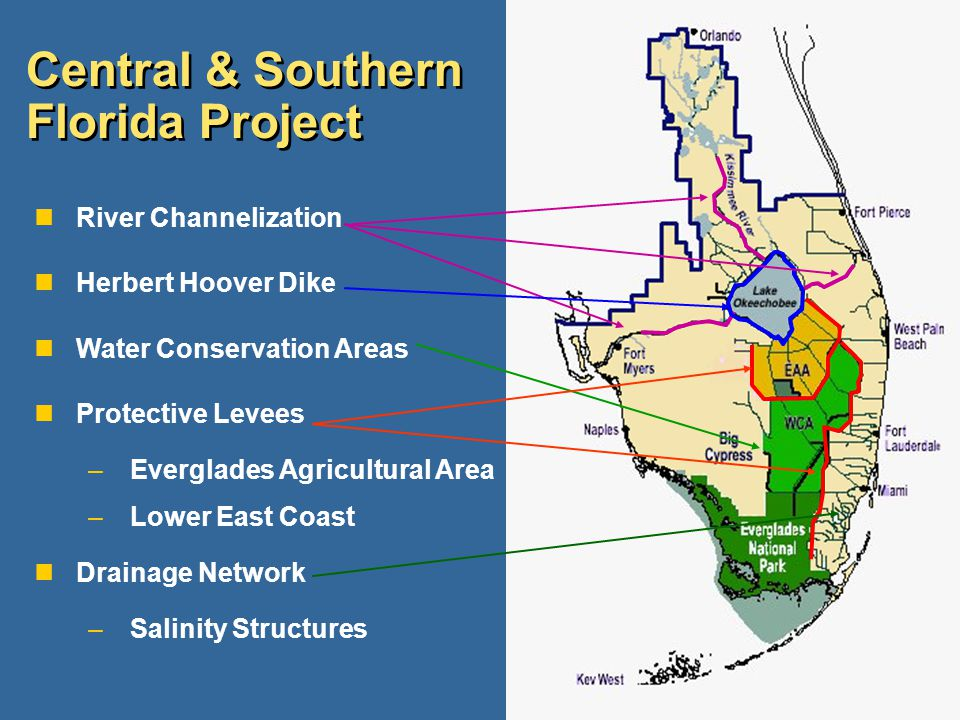 Central & Southern Florida Project