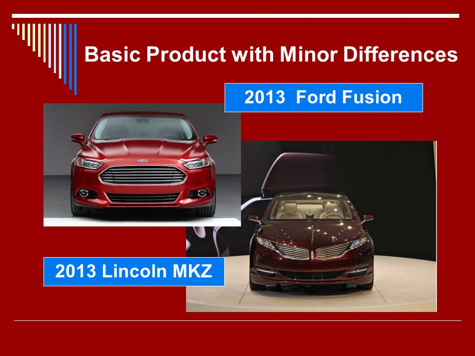 Basic Product with Minor Differences