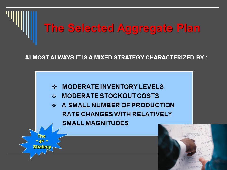The Selected Aggregate Plan