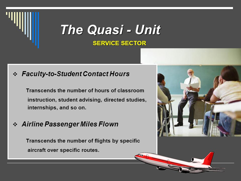 The Quasi - Unit Transcends the number of hours of classroom