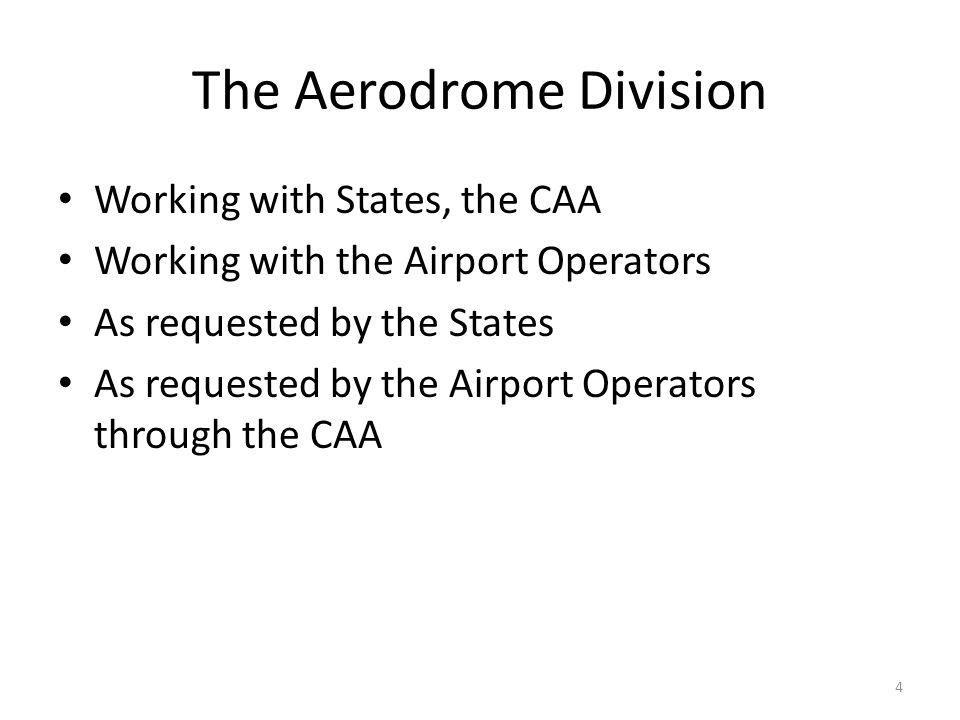 The Aerodrome Division