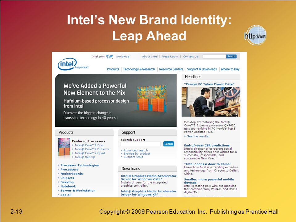 Intel's New Brand Identity: Leap Ahead