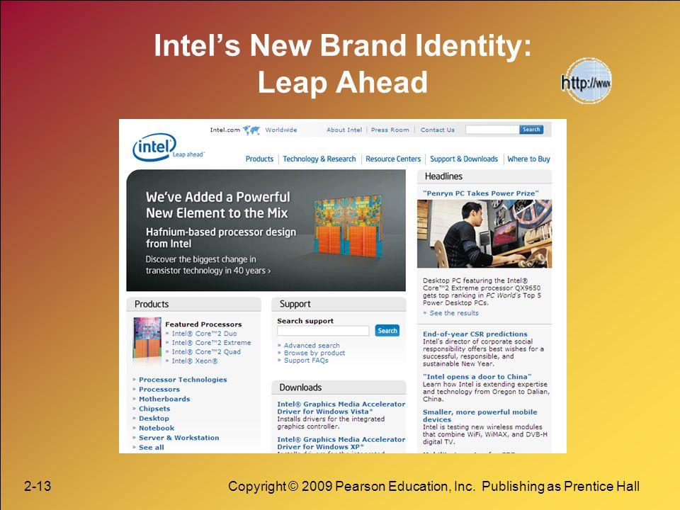 Intel's New Brand Identity: Leap Ahead