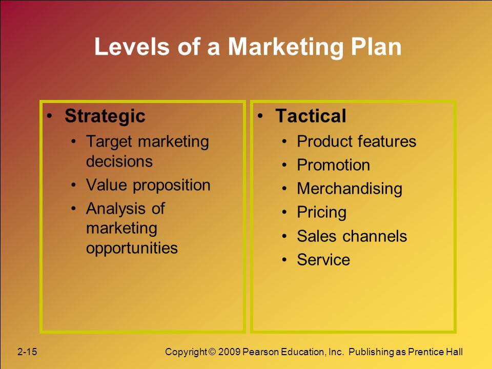 strategic marketing decisions for small and The marketing mix is most commonly which made it very difficult to come up with marketing strategy that i personally felt there is very small distinction.