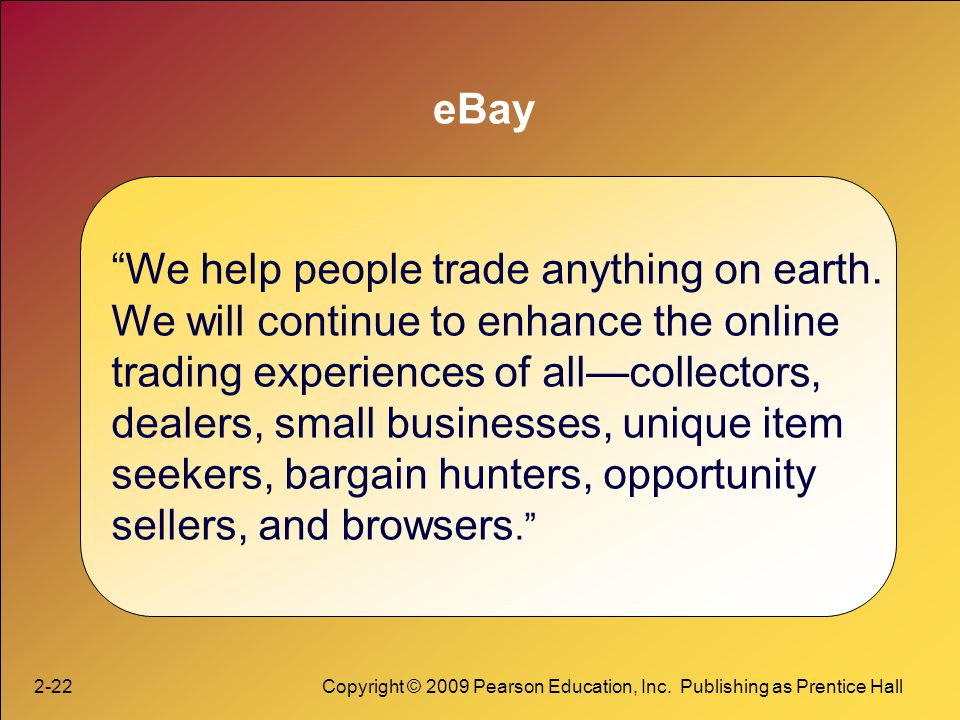 We help people trade anything on earth.