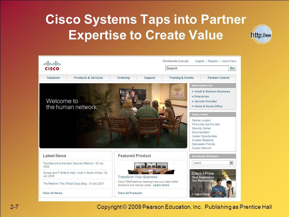 Cisco Systems Taps into Partner Expertise to Create Value
