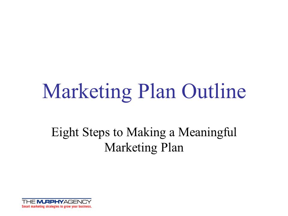 How To Write A Marketing Plan  Ppt Download